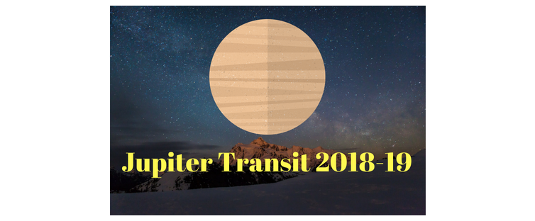 Jupiter transit in 2018